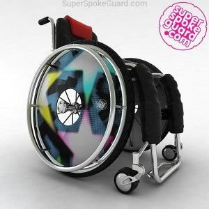 Wheelchair Spoke Guard A-054