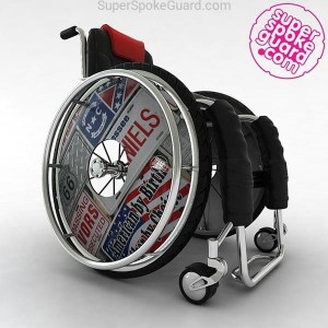 Wheelchair Spoke Guard A-082