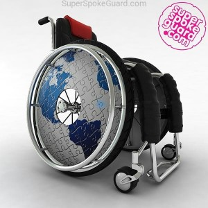Wheelchair Spoke Guard A-011