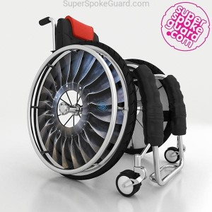 Wheelchair Spoke Guard A-146