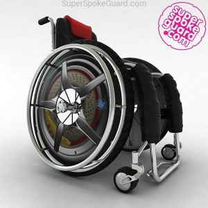 Wheelchair Spoke Guard A-092