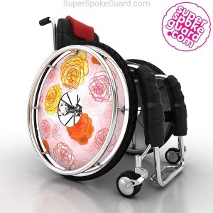 Wheelchair Spoke Guard A-110
