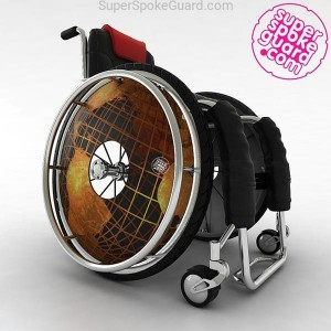 Wheelchair Spoke Guard A-009