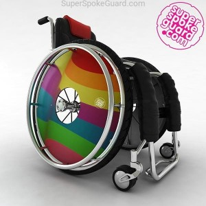 Wheelchair Spoke Guard A-013