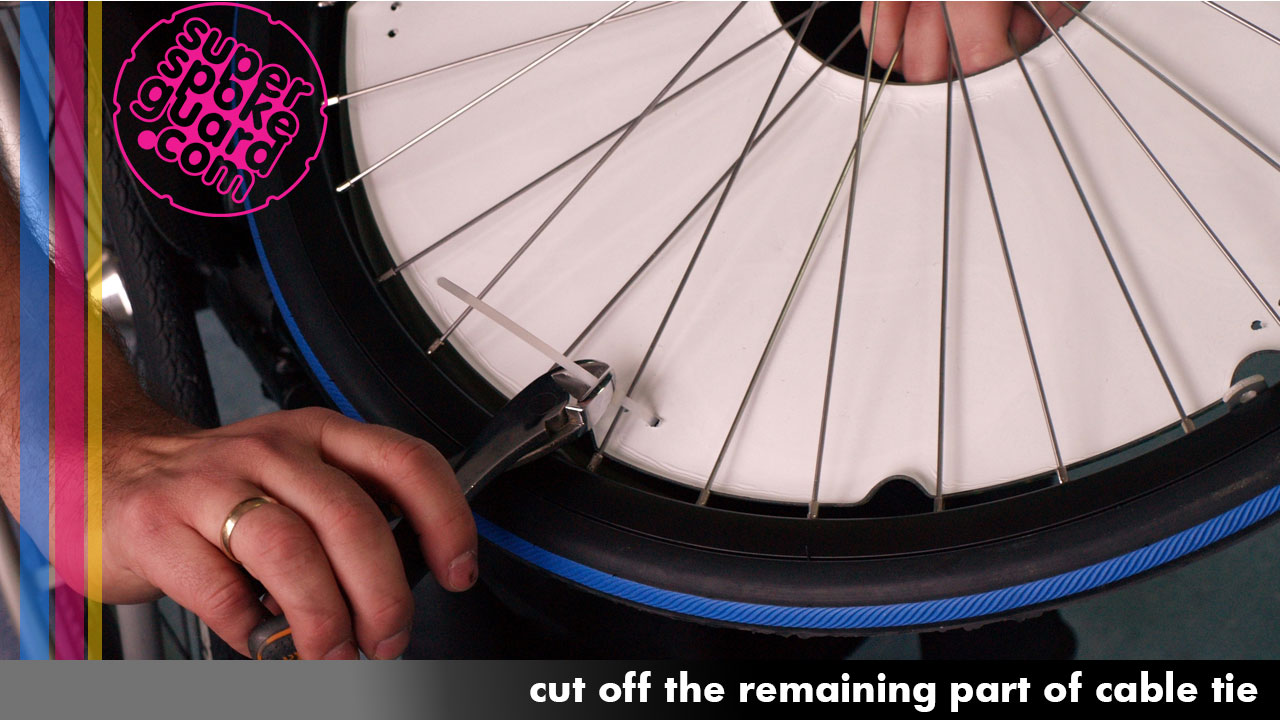 Wheelchair Spoke Guards Installation